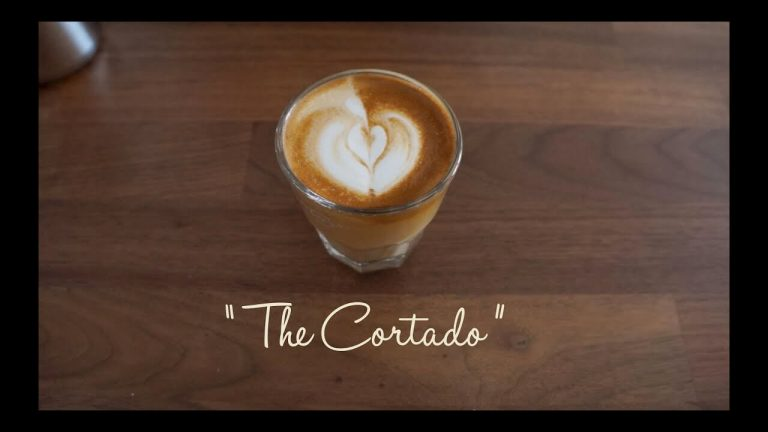 Let's get started on how to make a cortado