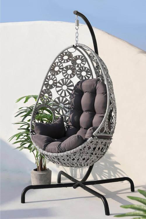 Luxury Hanging Egg Chair